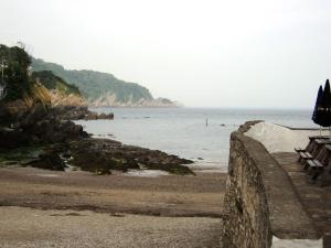 Beach and Harbour at Combe Martin 2