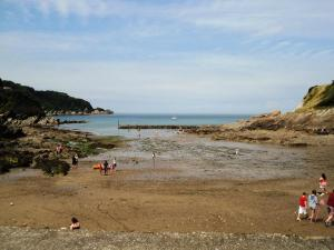 Beach and Harbour at Combe Martin 1