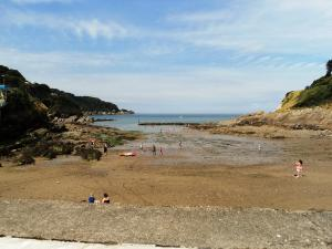 Beach and Harbour at Combe Martin 5